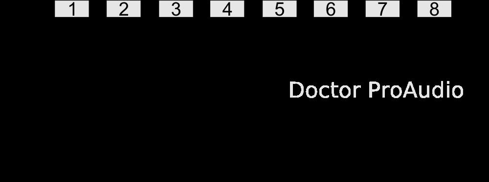 DB25, Analógico